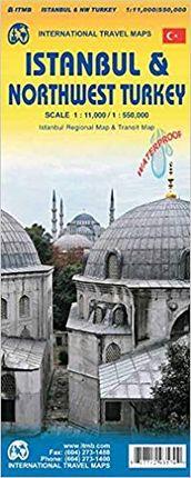 ISTANBUL 1:11.000 & NORTHWEST TURKEY 1:550.000 -ITMB