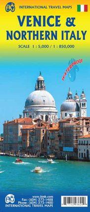 VENICE & NORTHERN ITALY 1:5.000 / 1:850.000 -ITMB