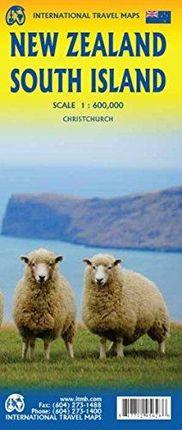NEW ZEALAND SOUTH ISLAND 1:600.000 -ITMB