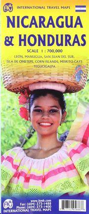 NICARAGUA & HONDURAS 1:700.000 -ITMB