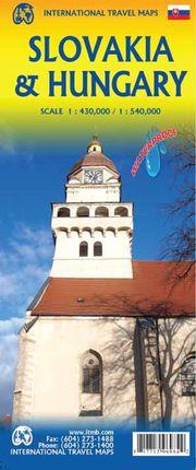 SLOVAKIA 1:430.000 & HUNGARY 1:540.000 -ITMB