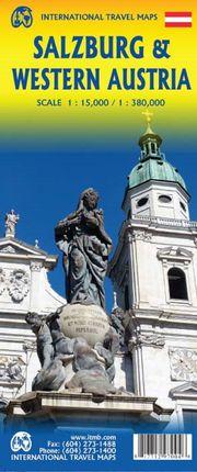 SALZBURG 1:15.000 & WESTERN AUSTRIA 1:380.000 -ITMB