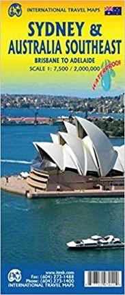 SYDNEY 1:7.500 & AUSTRALIA SOUTHEAST 1:2.000.000 -ITMB