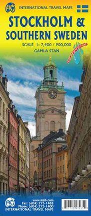 STOCKHOLM 1:7.400 & SOUTHERN SWEDEN 1:900.000 -ITMB