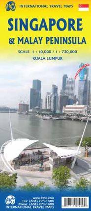 SINGAPORE 1:10.000 & MALAY PENINSULA 1:730.000 -ITMB