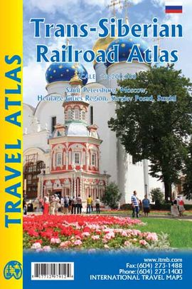 TRANS-SIBERIAN RAILROAD ATLAS [1:3.200.000] -TRAVEL ATLAS -ITMB