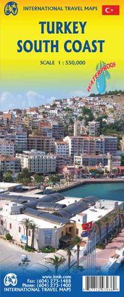 TURKEY SOUTH COAST 1:550.000 -ITMB