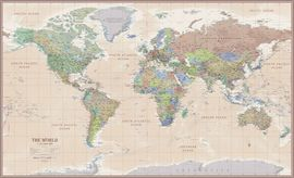 WORLD ANTIQUE MAP [MURAL] [1:50.000.000] -ITMB