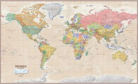 WORLD ANTIQUE MAP [MURAL] 1:27.000.000 -ITMB