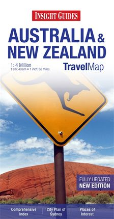 AUSTRALIA & NEW ZEALAND 1:4 MILLION -INSIGHT TRAVEL MAP