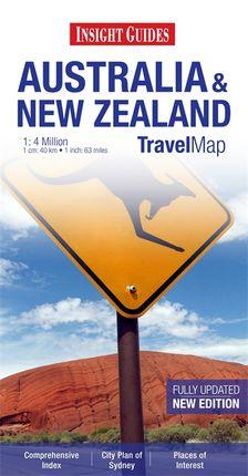 AUSTRALIA & NEW ZEALAND 1:4 MILLION -INSIGHT TRAVEL MAP