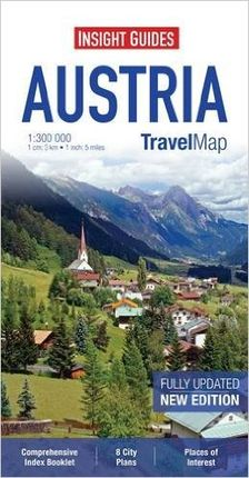 AUSTRIA 1:300.000 -INSIGHT TRAVEL MAP