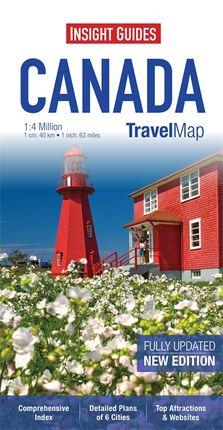 CANADA 1:4.000.000- INSIGHT TRAVEL MAP
