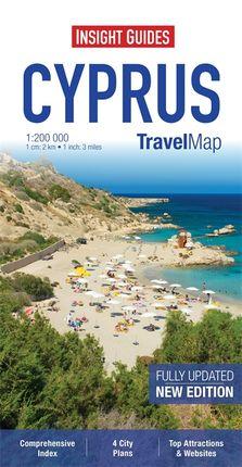 CYPRUS 1:200.000 -INSIGHT TRAVEL MAP