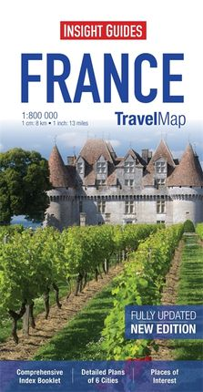 FRANCE 1:800.000 -INSIGHT TRAVEL MAP