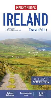 IRELAND 1:300.000 -INSIGHT TRAVEL MAP