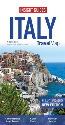 ITALY 1:800.000 -INSIGHT TRAVEL MAP