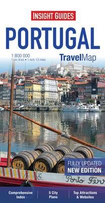 PORTUGAL 1:800.000 -INSIGHT TRAVEL MAP