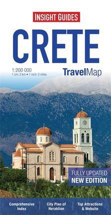CRETE 1:200.000 - INSIGHT TRAVEL MAP