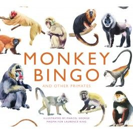 MONKEY BINGO AND OTHER PRIMATES [CAJA]