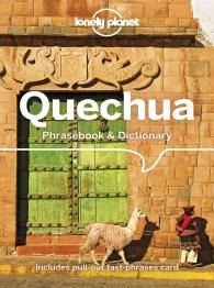 QUECHUA PHRASEBOOK & DICTIONARY -LONELY PLANET