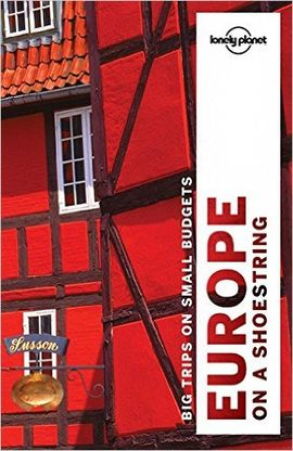 EUROPE ON A SHOESTRING -LONELY PLANET