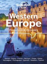 WESTERN EUROPE PHRASEBOOK & DICTIONARY -LONELY PLANET