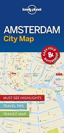 AMSTERDAM. CITY MAP -LONELY PLANET