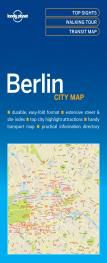 BERLIN. CITY MAP -LONELY PLANET