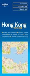 HONG KONG. CITY MAP -LONELY PLANET
