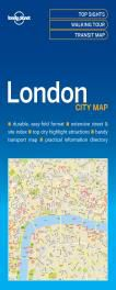LONDON. CITY MAP -LONELY PLANET