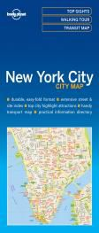 NEW YORK. CITY MAP -LONELY PLANET