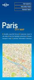 PARIS. CITY MAP -LONELY PLANET