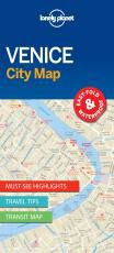 VENICE. CITY MAP -LONELY PLANET