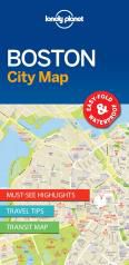 BOSTON. CITY MAP -LONELY PLANET