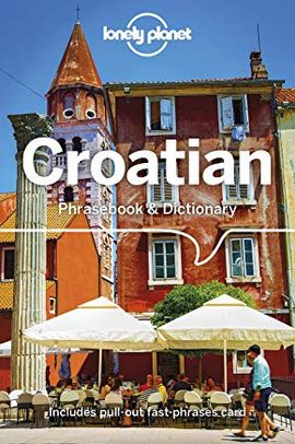 CROATIAN -PHRASEBOOK & DICTIONARY -LONELY PLANET
