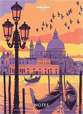 NOTEBOOK -EUROPE -LONELY PLANET