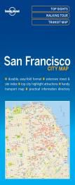 SAN FRANCISCO. CITY MAP -LONELY PLANET