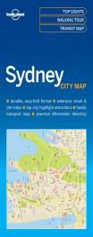 SYDNEY. CITY MAP -LONELY PLANET