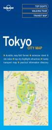 TOKYO. CITY MAP -LONELY PLANET