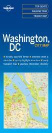 WASHINGTON. CITY MAP -LONELY PLANET