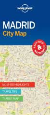MADRID. CITY MAP -LONELY PLANET