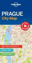 PRAGUE. CITY MAP -LONELY PLANET