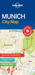 MUNICH. CITY MAP -LONELY PLANET