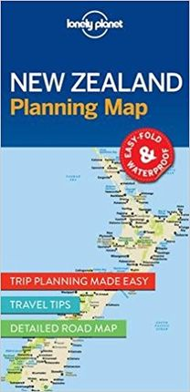 NEW ZEALAND PLANNING MAP -LONELY PLANET