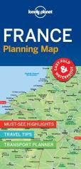 FRANCE. PLANNING MAP -LONELY PLANET