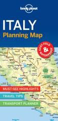 // ITALY PLANNING MAP -LONELY PLANET