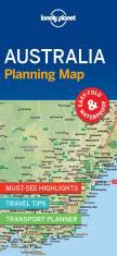 // AUSTRALIA PLANNING MAP -LONELY PLANET