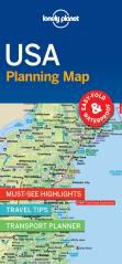 USA PLANNING MAP -LONELY PLANET