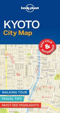 KYOTO. CITY MAP -LONELY PLANET